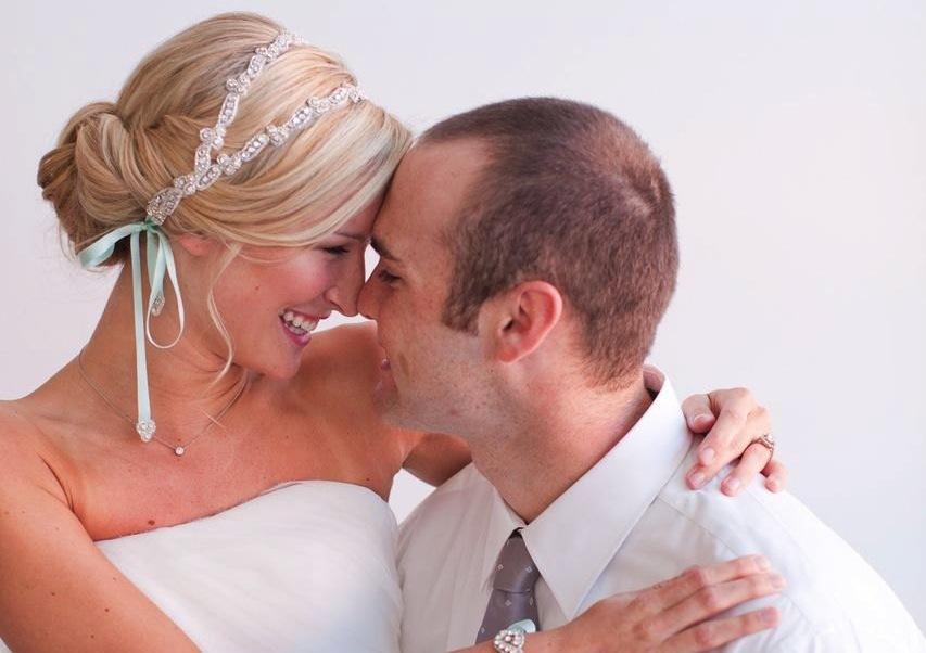 Swept-back-wedding-updo-with-beaded-headband.full