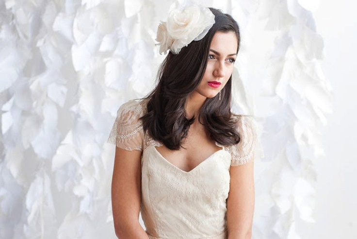 All-down-wedding-hair-with-large-ivory-flowers.full