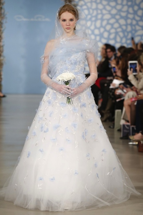 Spring 2014 Wedding Dress Oscar de la Renta Bridal 1