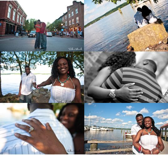 photo of Featured Engagement Session: Chioma and Seun