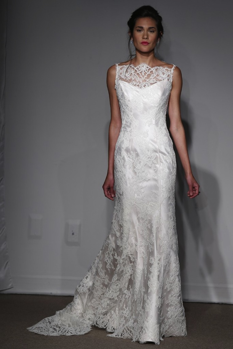 spring 2014 wedding dress anna maier bridal 6 onewedcom With anna maier wedding dress