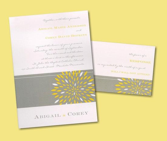 photo of Top Wedding Invitation Trends: Colors, Patterns, Silhouettes and More!