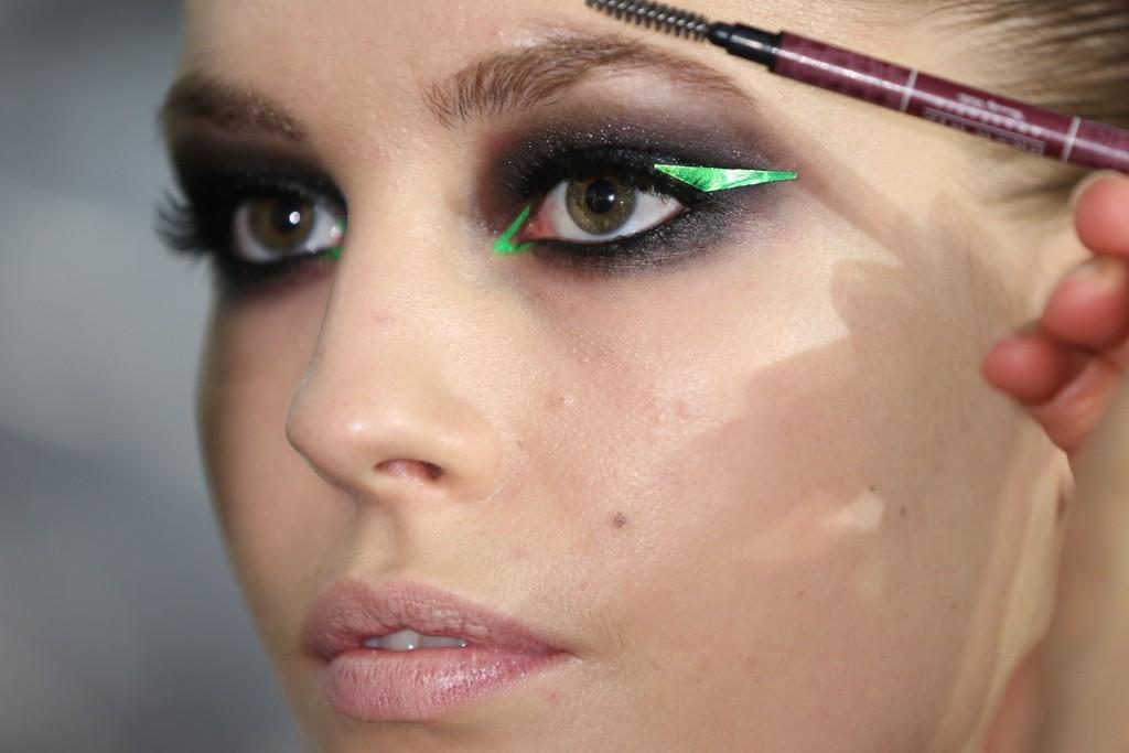 Black Green Wedding Eye Makeup