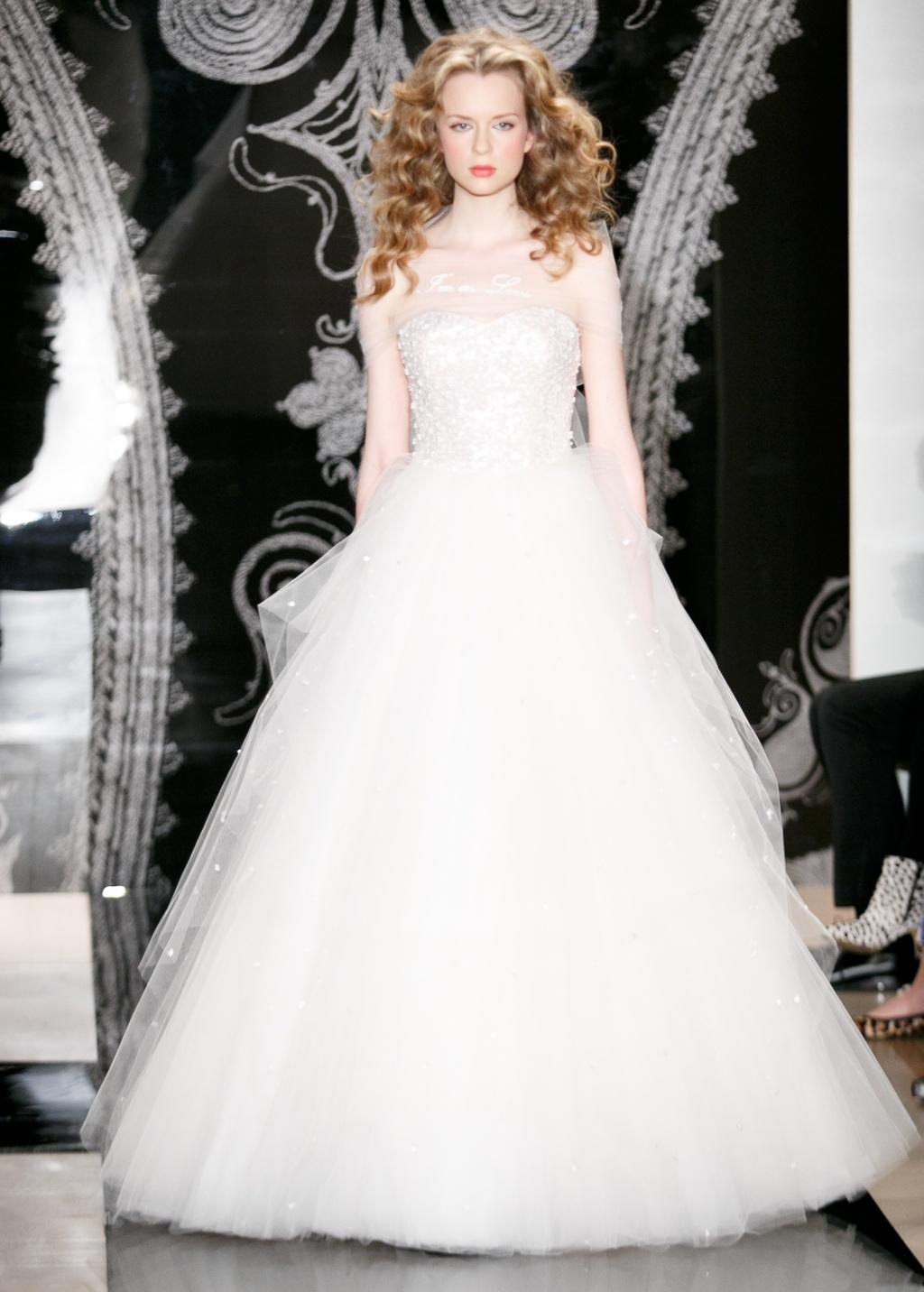 Reem Acra Wedding Dress Spring 2014 Bridal Alisha Lilianna