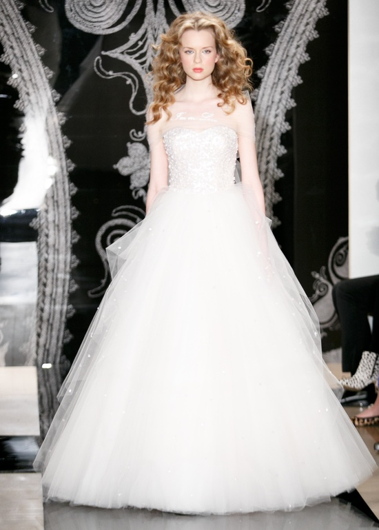 Reem Acra Wedding Dress Spring 2014 Bridal Alisha Lilianna