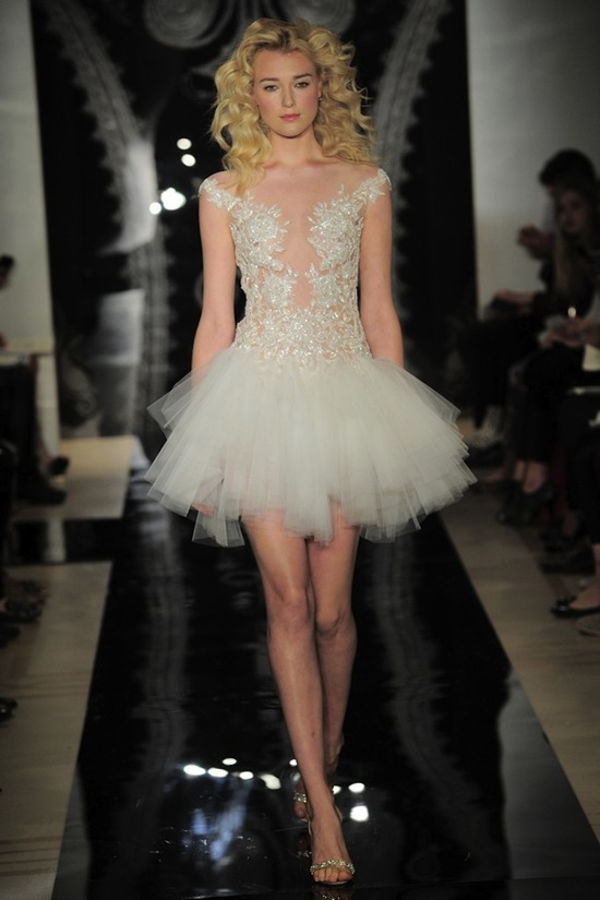 Reem Acra Wedding Dress Spring 2014 Bridal Daria Indira