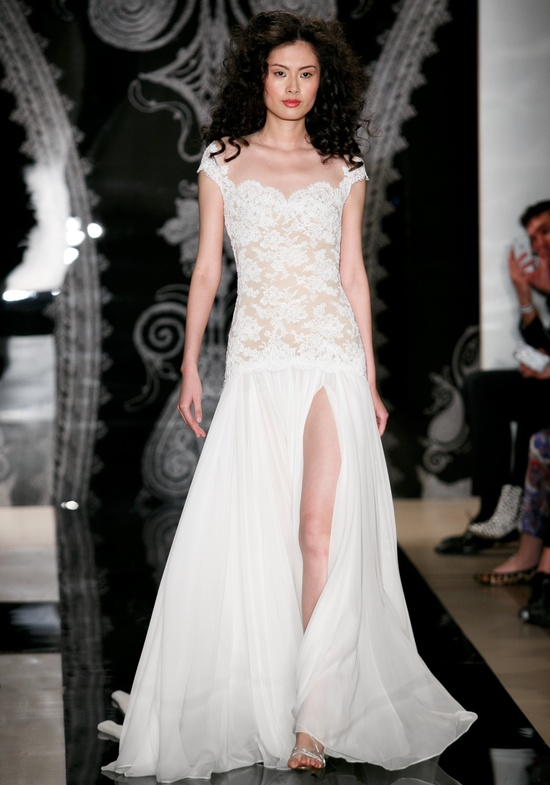 Reem Acra Wedding Dress Spring 2014 Bridal Teng Teng