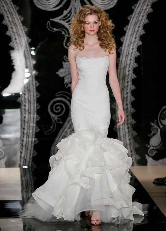 Reem Acra Wedding Dress Spring 2014 Bridal Sariah