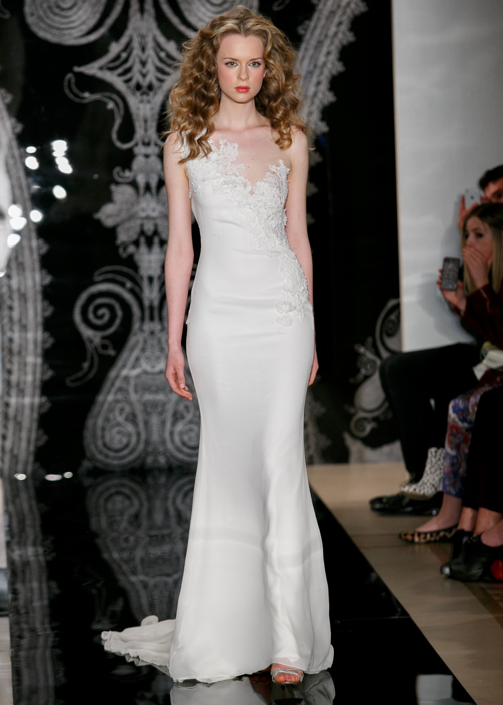 Reem Acra Wedding Dress Spring 2014 Bridal Alisha