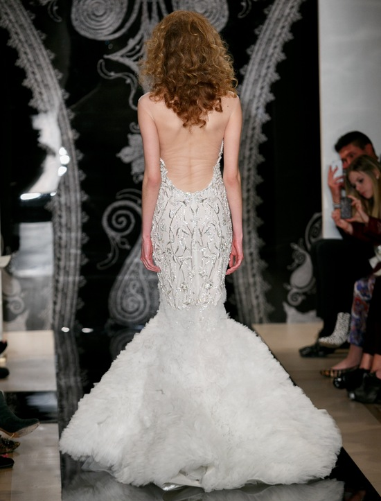Reem Acra Wedding Dress Spring 2014 Bridal Isis