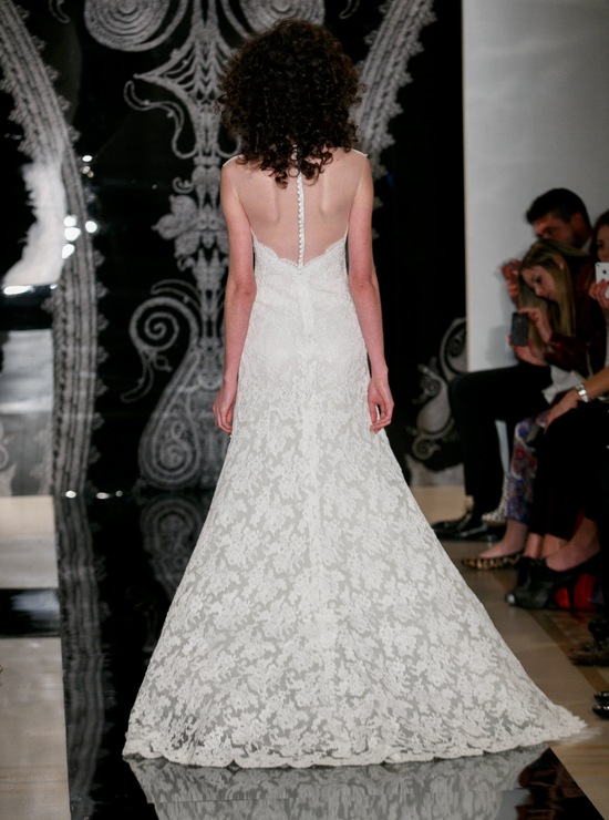 Reem Acra Wedding Dress Spring 2014 Bridal Thais
