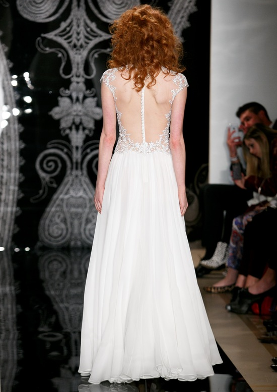 Reem Acra Wedding Dress Spring 2014 Bridal Zazoe
