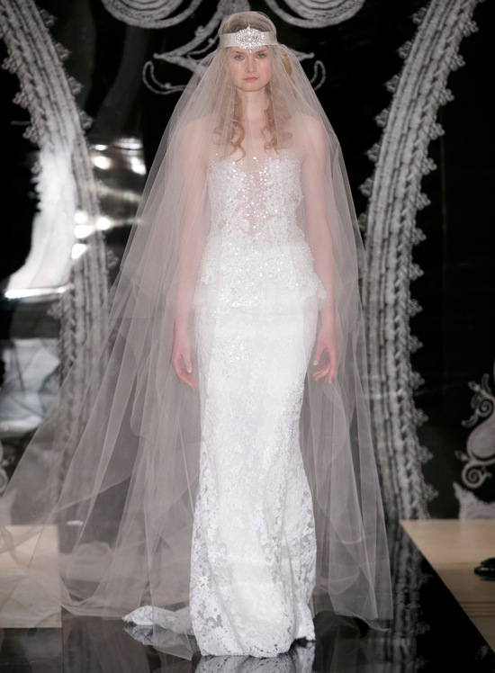 Reem Acra Wedding Dress Spring 2014 Bridal Johanna Ella
