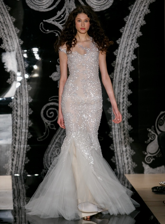 Reem Acra Wedding Dress Spring 2014 Bridal Nastasia Ilona