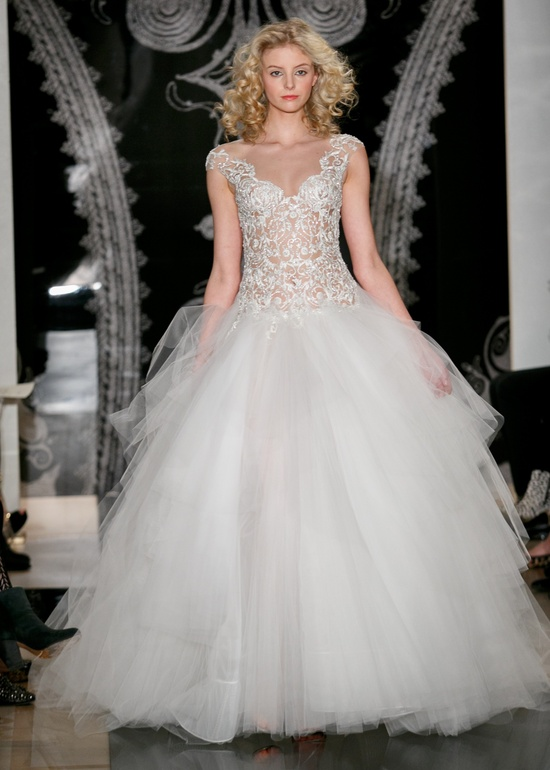 Reem Acra wedding dress Spring 2014 finale gown