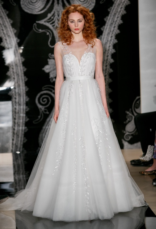 Reem Acra Wedding Dress Spring 2014 Bridal