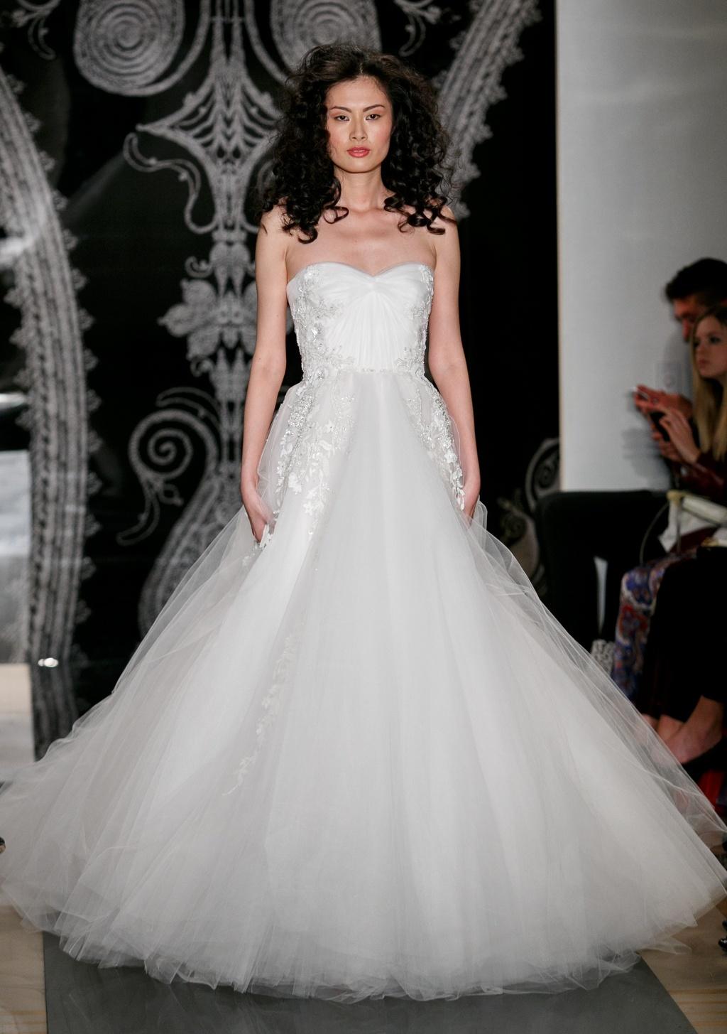 Reem Acra Wedding Dress Spring 2014 Bridal 20