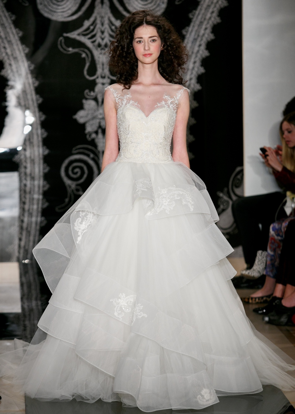 Reem Acra Wedding Dress Spring 2014 Bridal 21