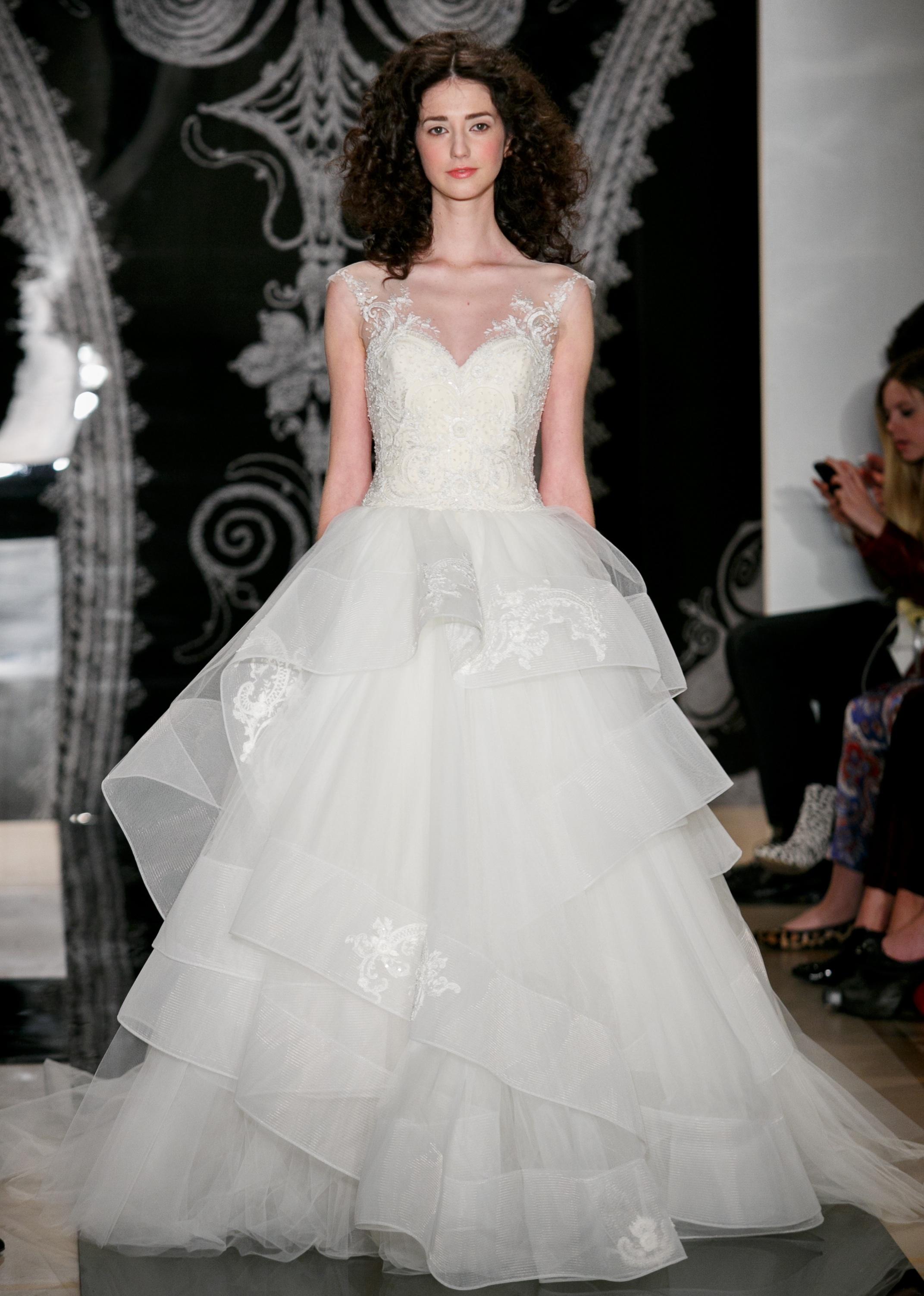 Reem Acra Wedding Gown 017 - Reem Acra Wedding Gown