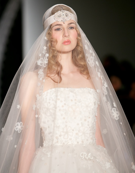 Beautiful bridal details at Reem Acra 3
