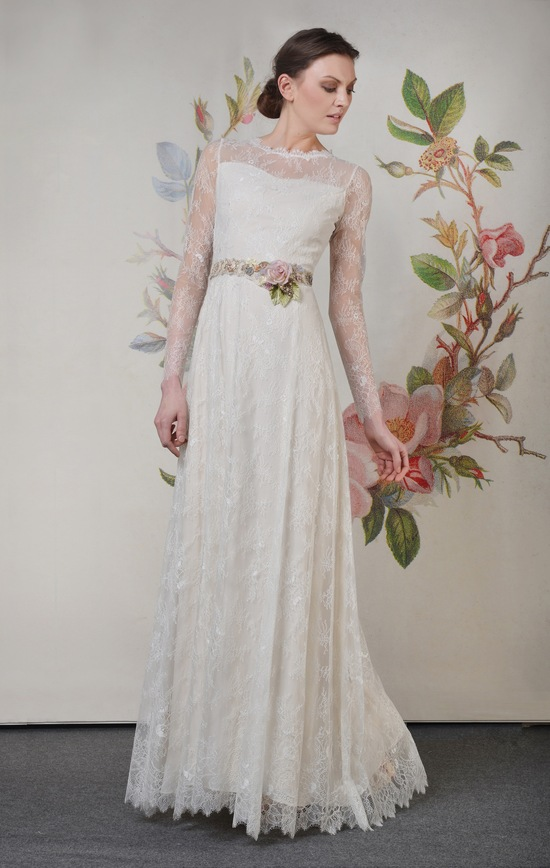 Claire Pettibone Spring Summer 2014 Wedding Dress Charlotte