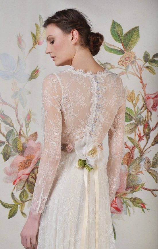 Claire Pettibone Spring Summer 2014 Wedding Dress Charlotte f 02