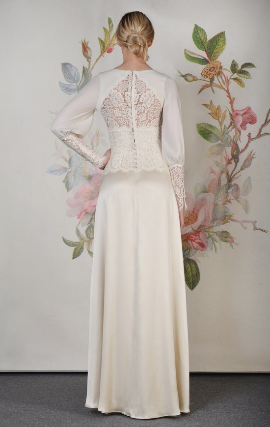 Claire Pettibone Spring Summer 2014 Wedding Dress Estelle f 01
