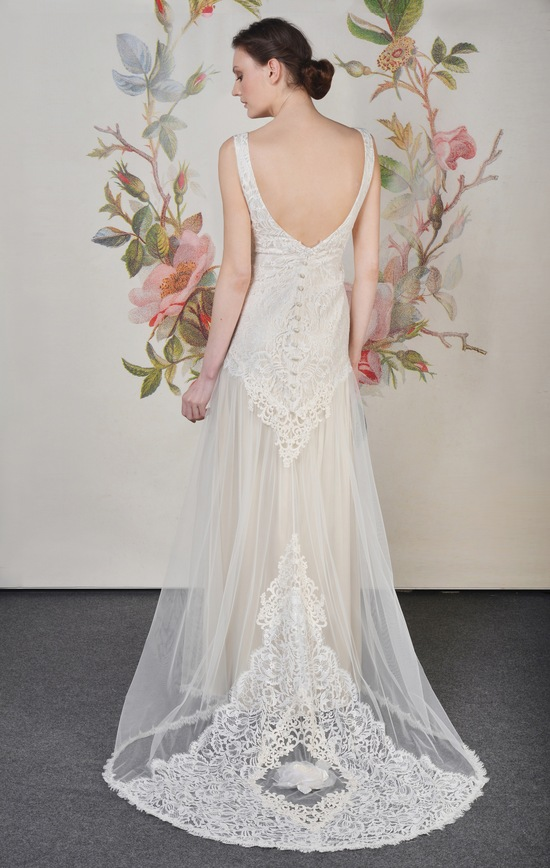 Claire Pettibone Spring Summer 2014 Wedding Dress Florentine