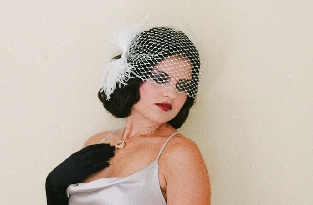 Feather-and-tulle-wedding-birdcage-veil.full