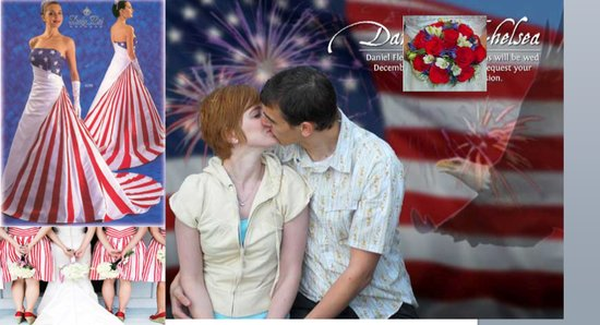 photo of Patriotic Wedding Ideas