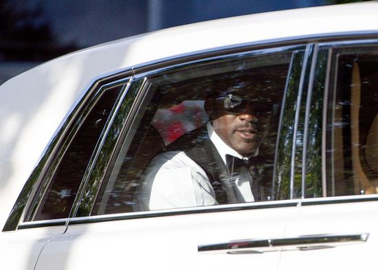 Michael Jordan Wedding Groom Exit