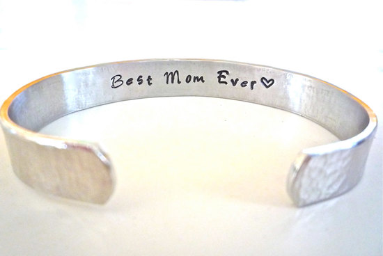 Best Mom Ever Silver Bracelet