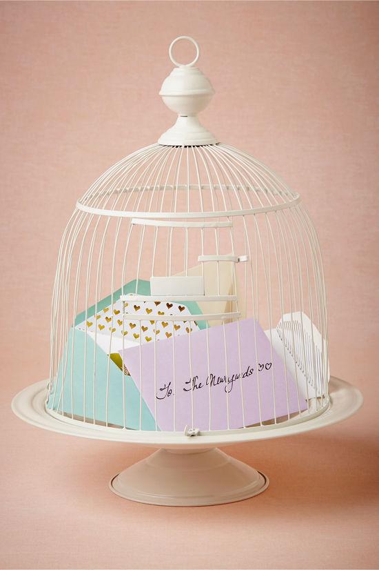 photo of  Birdcage Envelope Holder