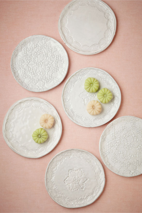 photo of Dream in Lace Plates