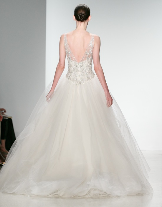 Kenneth Pool Wedding Dress Spring 2014 Bridal Giada