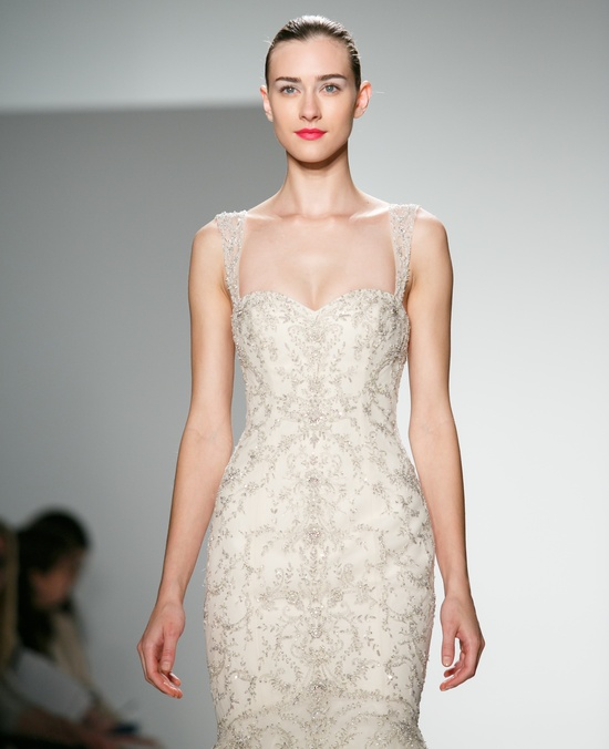 Kenneth Pool Wedding Dress Spring 2014 Bridal
