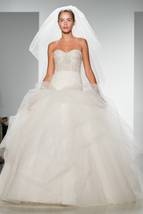 photo of Kenneth Pool Wedding Dress Spring 2014 Bridal Sonya