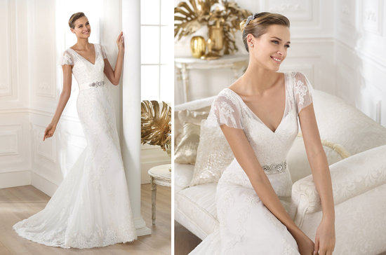 2014 Bridal Pre Collection Pronovias Costura Wedding Dress Lianela