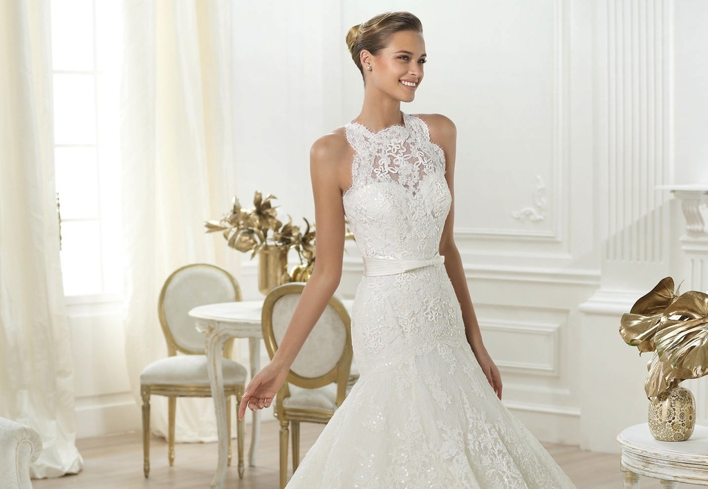 Lenix wedding dress by Pronovias