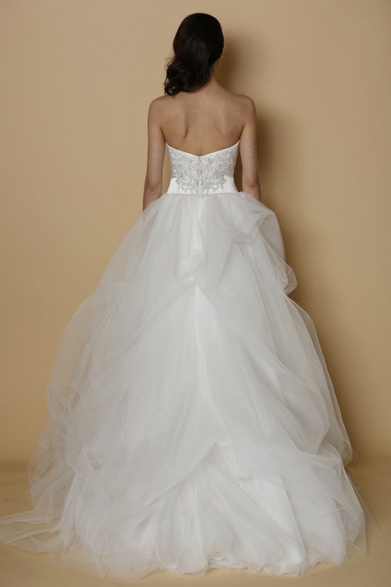 ALYNE Spring Summer 2014 wedding dress ROSES