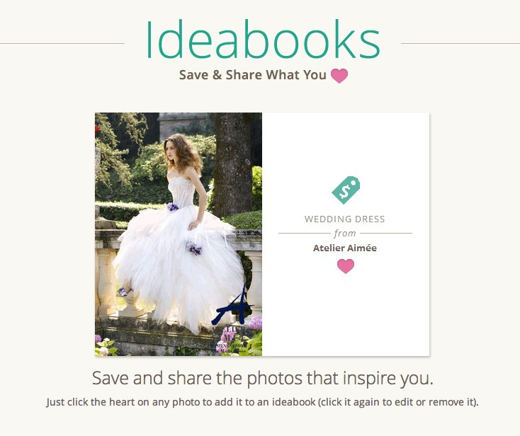 Introducing Custom Ideabooks for Brides and Grooms