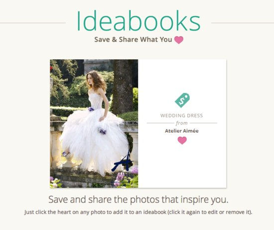 photo of Introducing Custom Ideabooks for Brides and Grooms