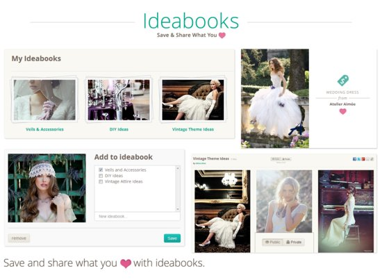 Ideabooks for Brides 2