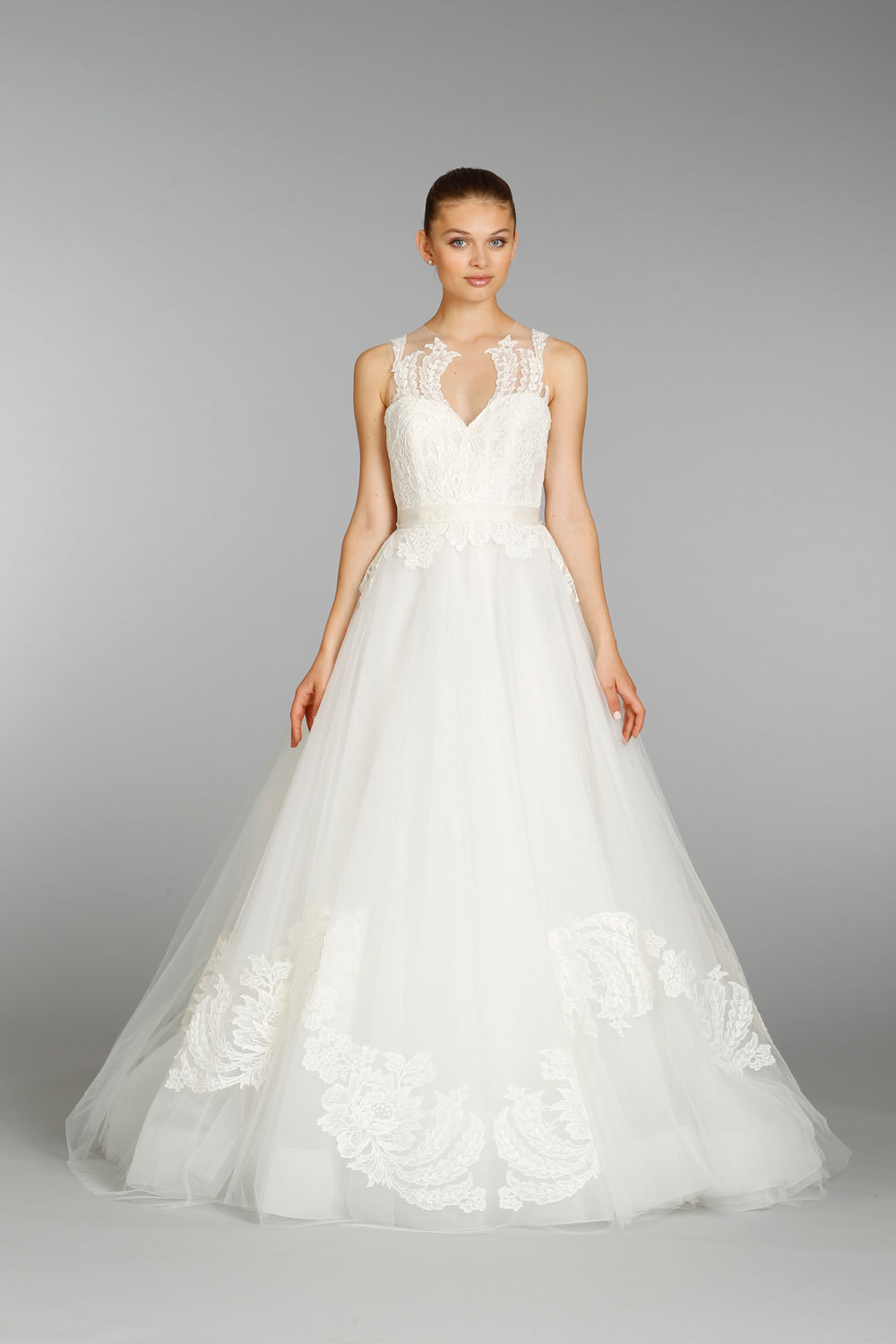 Lazaro wedding dress fall 2013 bridal 3366 for Where to buy lazaro wedding dresses