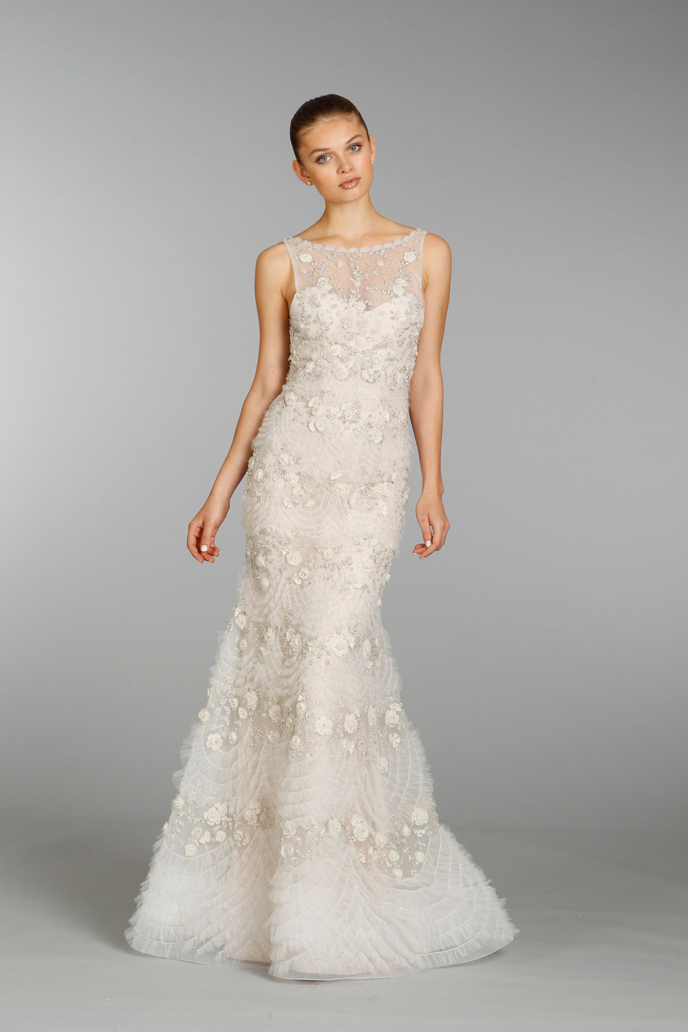 Lazaro wedding dress fall 2013 bridal 3362 for What kind of wedding dress
