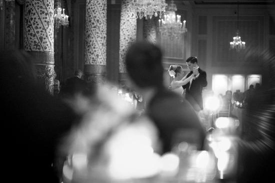 photo of First Dance at Elegant Chicago Wedding