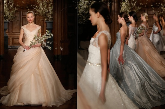 Romona Keveza Spring 2014 Wedding Dresses Colorful