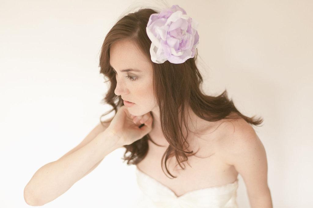 Lavender-hair-flower-for-bridesmaids.full
