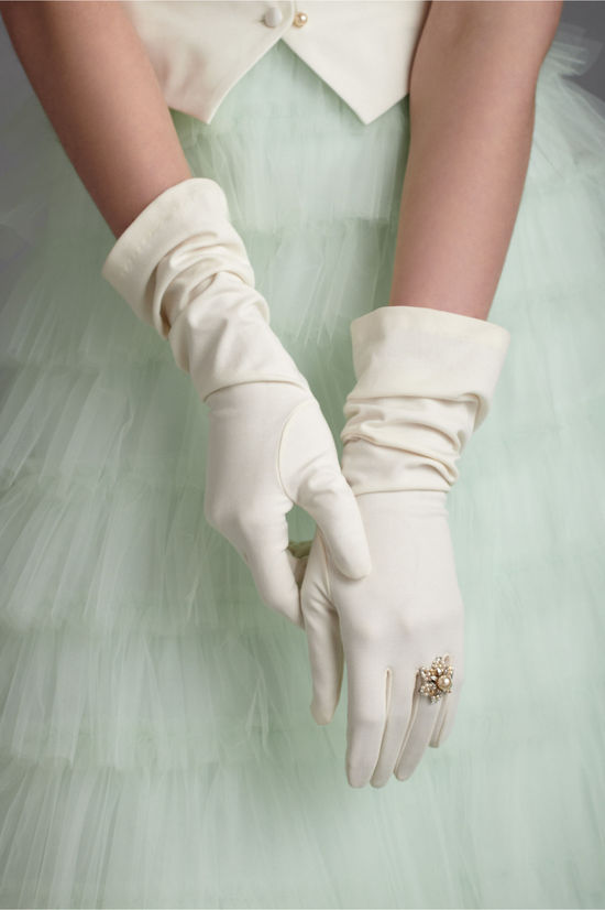 bridal gloves vintage wedding style