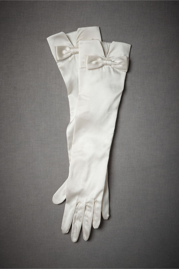 photo of Fifty-Fifty bridal gloves by BHLDN